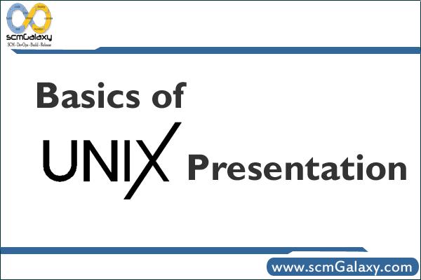 unix-presentation