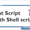 ant-script-with-shell-script
