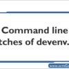 devenvexe-command-line-switches