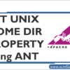 set-unix-home-dir-property-using-ant