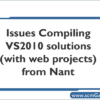 vs2010-compiling-issues