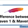 maven-1-and-maven-2-differences
