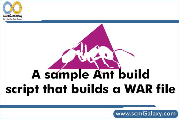 ant-build-script-war-file