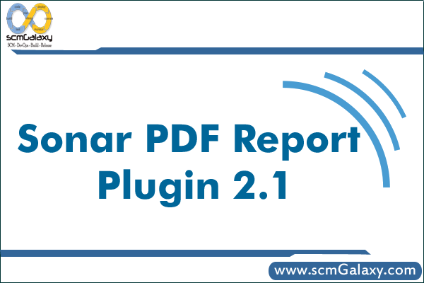 sonar-pdf-report-plugin