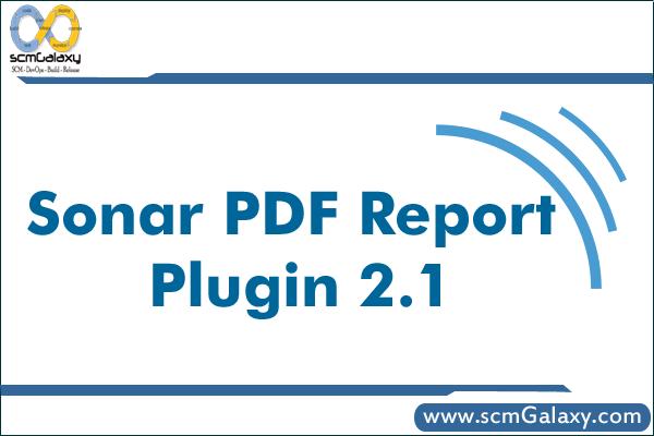 sonar-pdf-report-plugin