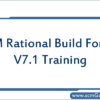 ibm-rational-build-forge-v7-1-training