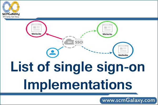single-sign-on-implementations