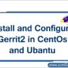 gerrit2-installation-configuration