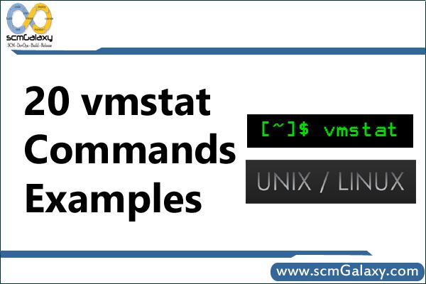vmstat-commands