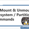 partition-commands-in-linux-unix