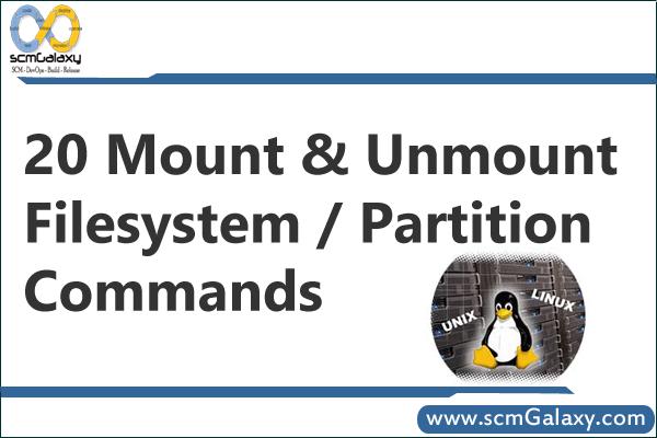 partition-commands-in-linux-unix