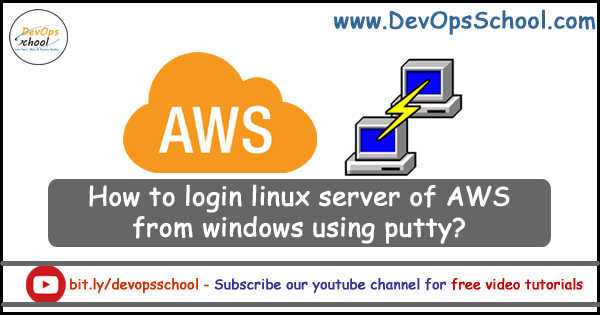 aws-linux-putty