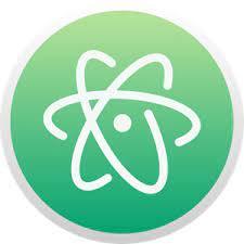Atom Logo Vector (.SVG) Free Download