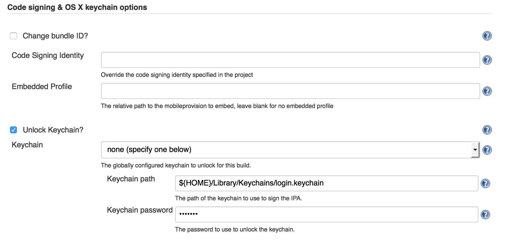 install jenkins xcode plugin